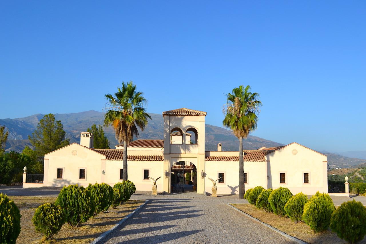 La Esperanza Granada villa and wedding venue in Spain. Самый романтичный отель в Андалусии