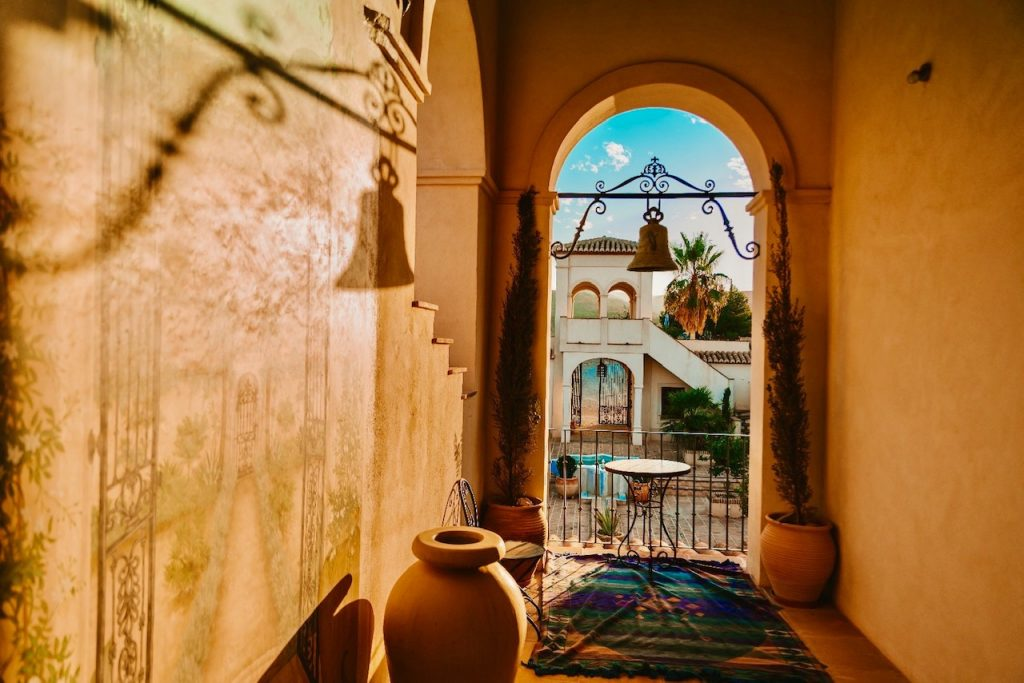 La Esperanza Granada es perfecto para bodas lujo. La hacienda es una mas romántica en Andalucia.