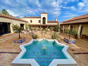 La Hacienda Esperanza es la hotel mas romantica en Andalucia