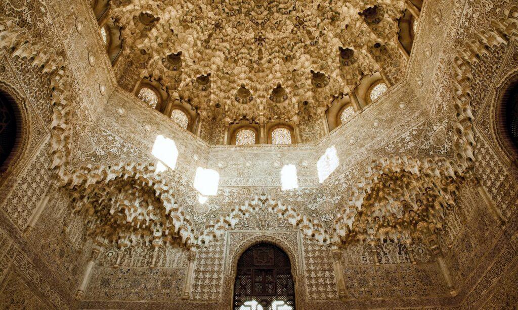 Alhambra Palace near La Esperanza Granada