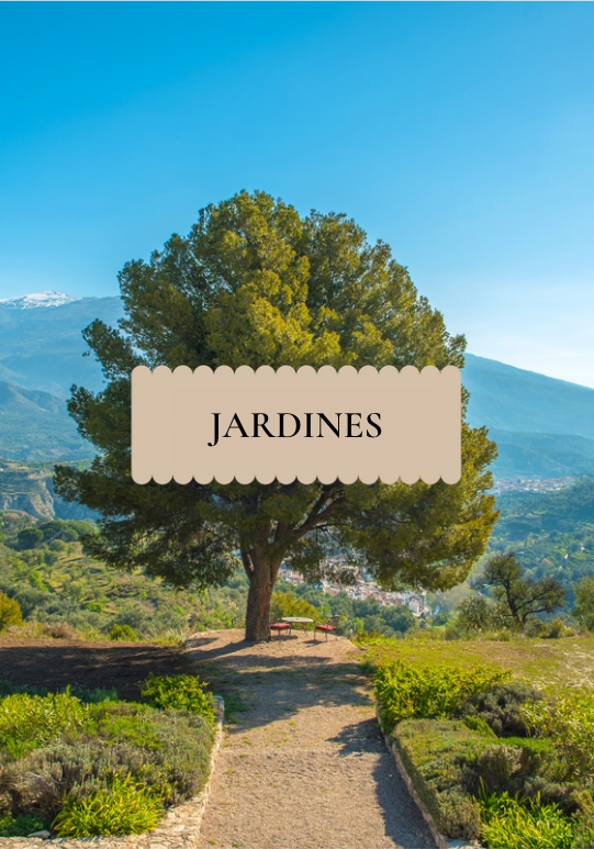 Gardens of La Esperanza Granada in Spain