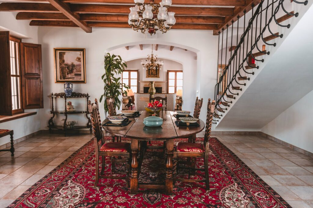 Dining room of La Esperanza Granada