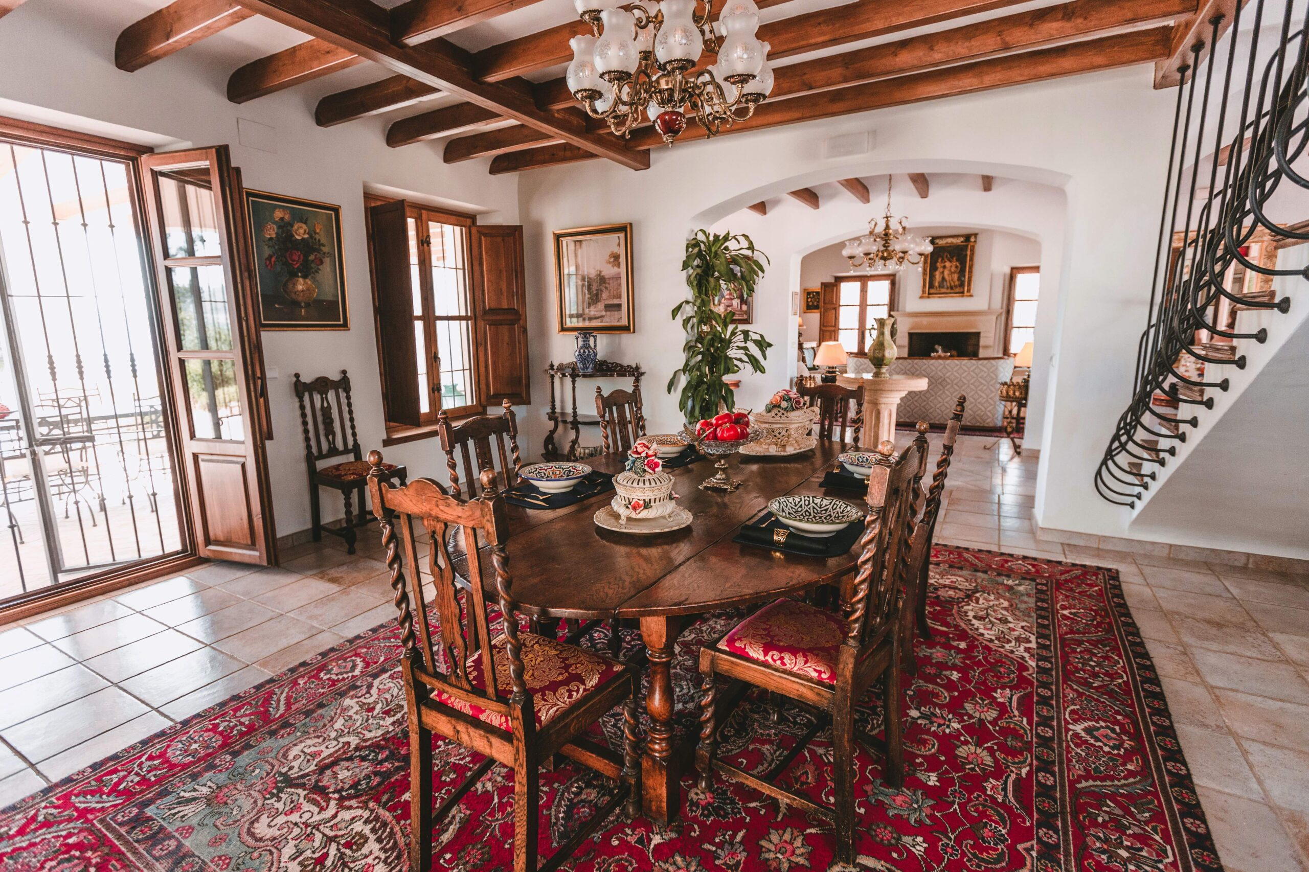 La Esperanza Granada Dining Room