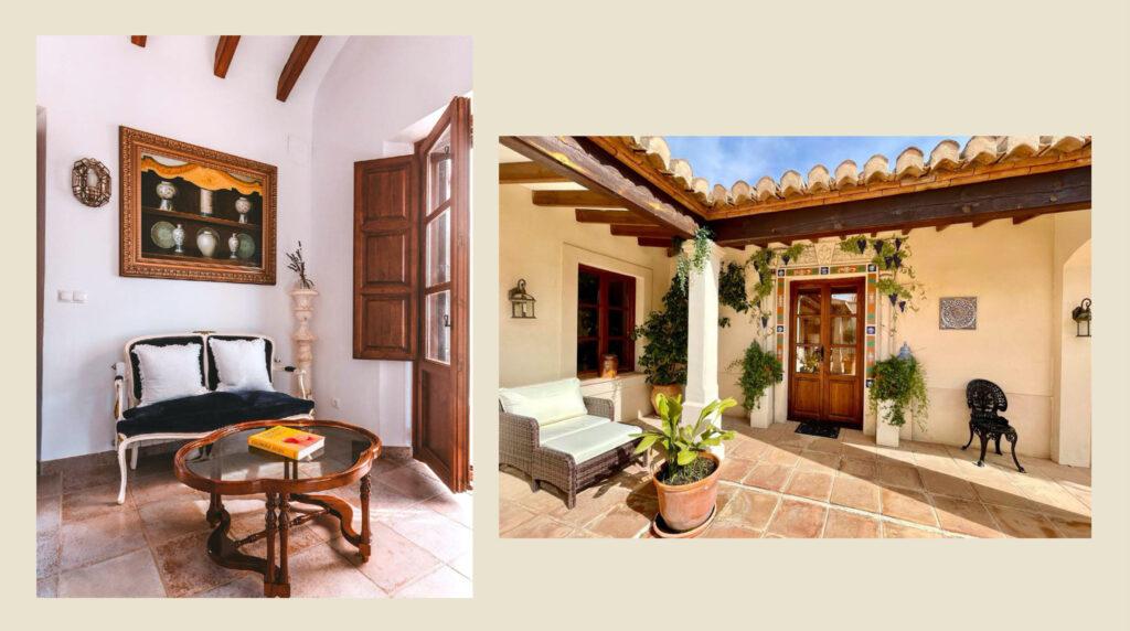 Junior suite of La Esperanza Granada in Spain